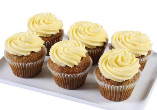 Banana Cake Cupcakes