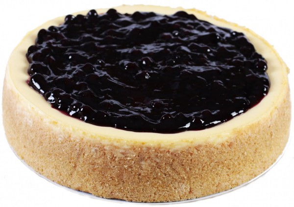 Blueberry Baked Cheesecake