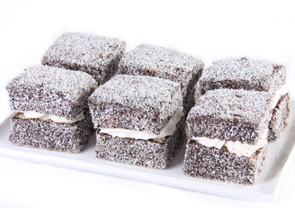 Jam & Cream Lamingtons