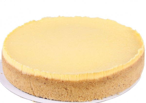 Plain Baked Cheesecake