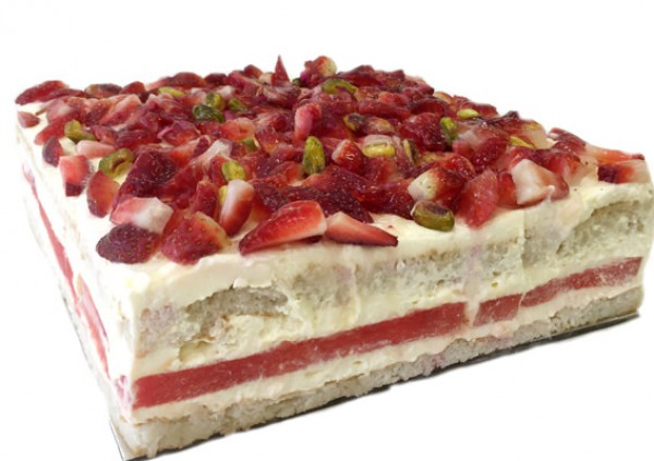Strawberry Watermelon Cake